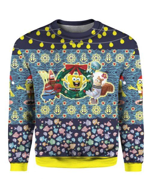Spongebob 3D Print Ugly Christmas Sweater