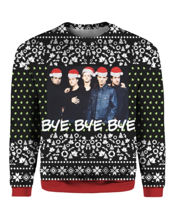 Nsync Band 3D Print Ugly Christmas Sweater