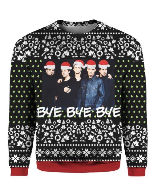Nsync Band 3D Print Ugly Christmas Sweater