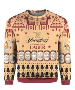 Yuengling Lager Beer 3D Print Ugly Christmas sweater