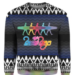 The Beach Boys Band 3D Print Ugly Christmas Sweatshirt