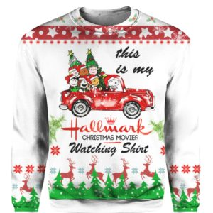 Snoopy Hallmark 3D Print Ugly Christmas Sweater