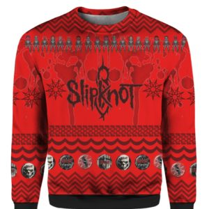 Slipknot Band 3D Print Ugly Christmas Sweater