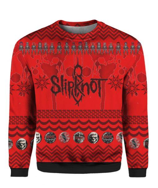 Slipknot Band 3D Print Ugly Christmas Sweater