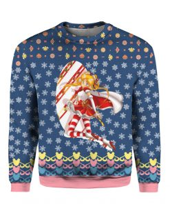 Sailor Moon Anime 3D Print Ugly Christmas Sweatshirt