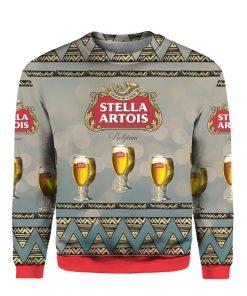 Stella Artois Beer 3D Print Ugly Christmas sweater