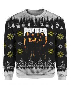 Pantera Band 3D Print Ugly Christmas Sweater