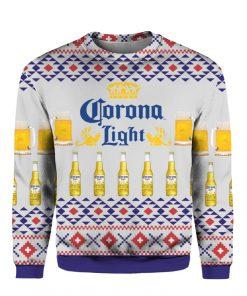 Corona Light Beer 3D Print Ugly Christmas Sweater
