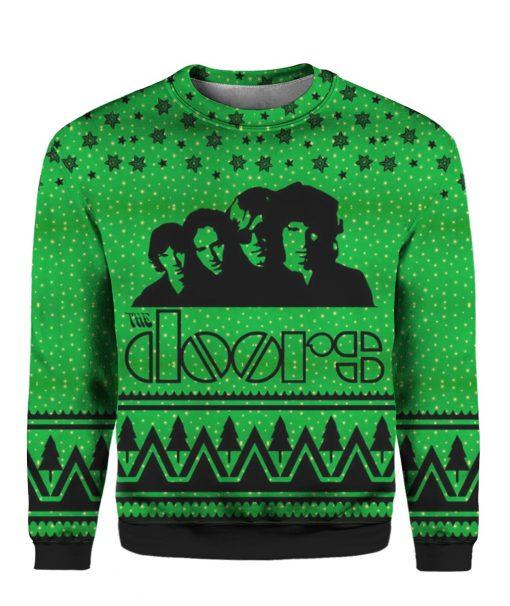 The Doors Band 3D Print Ugly Christmas Sweatshirt