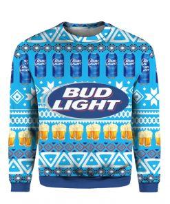 Bud Light Beer 3D Print Ugly Christmas sweatshirt