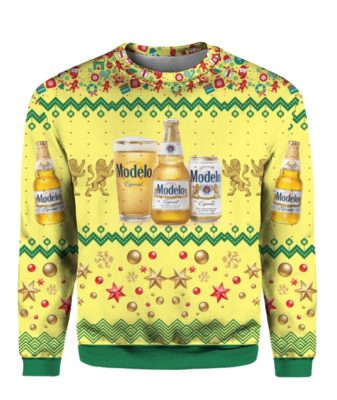 Modelo Especial Beer Bottles 3D Print Ugly Christmas Sweater