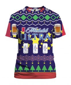 Michelob Ultra Beer Can 3D Print Ugly Christmas shirt