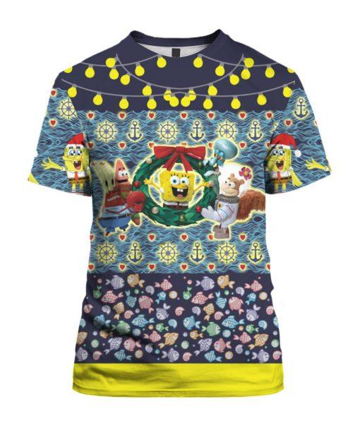 Spongebob 3D Print Ugly Christmas shirt