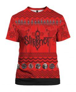 Slipknot Band 3D Print Ugly Christmas shirt