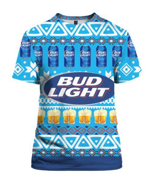 Bud Light Beer 3D Print Ugly Christmas
