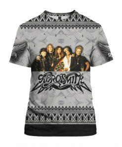 Aerosmith Band 3D Print Christmas Ugly shirt