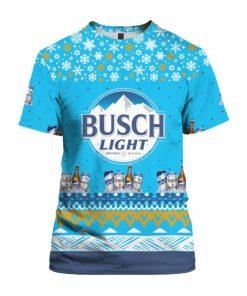 Busch Light Beer 3D Print Ugly Christmas shirt