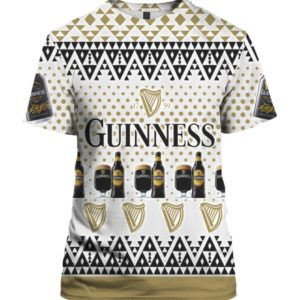 Guinness Beer 3D Print Ugly Christmas shirt