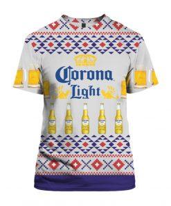 Corona Light Beer 3D Print Ugly Christmas shirt