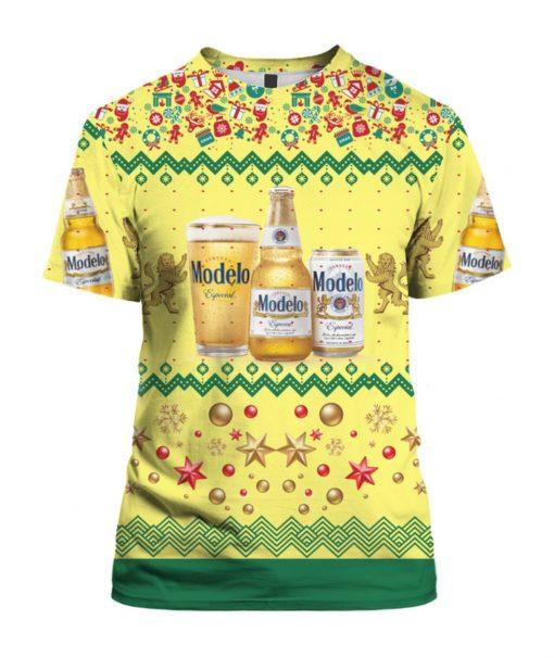 Modelo Especial Beer Bottles 3D Print Ugly Christmas Shirt