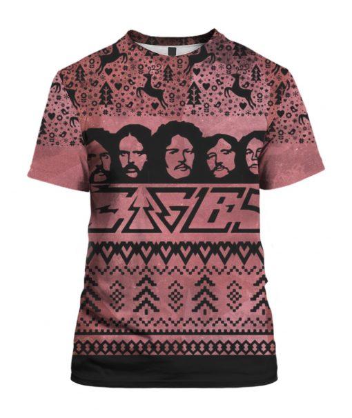 Eagles Band 3D Print Ugly Christmas shirt