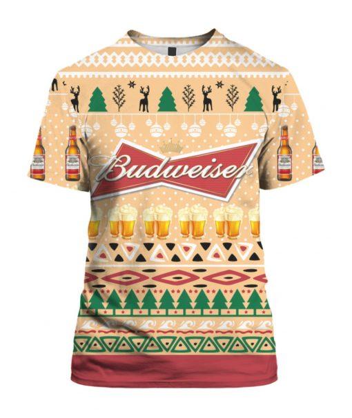 Budweiser Beer Bottle Funny Ugly Christmas