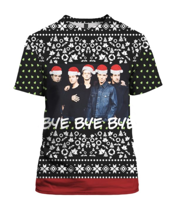 Nsync Band 3D Print Ugly Christmas shirt