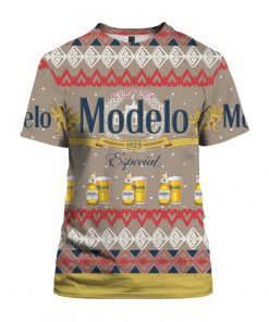 Modelo Especial Beer 3D Print Ugly Christmas shirt