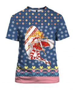 Sailor Moon Anime 3D Print Ugly Christmas shirt