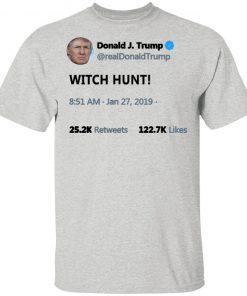 Trump Witch Hunt shirt