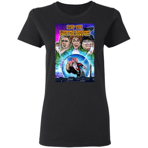 Stop the Witch-Hunt Trump 2020 shirt