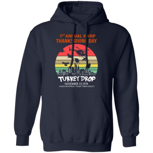 First Annual Thanksgiving Day Turkey Drop Sunrise Hoodie