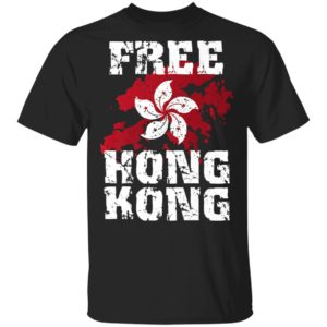 Stand With Hong Kong Flag Pro Democracy Tops Free Hong Kong shirt