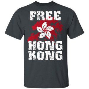 Stand With Hong Kong Flag Pro Democracy Tops Free Hong Kong shirt