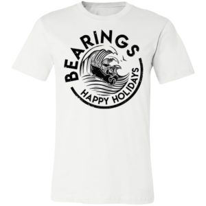 White Claus Bearings Happy Holidays Shirt