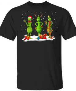 Three Grinch Noel Merry Christmas