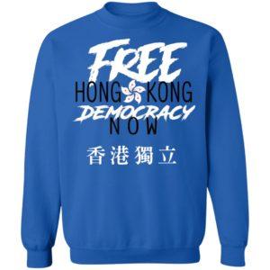 Free Hong Kong Democracy Now Hong Kong independence Flag