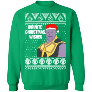 Thanos Infinite Christmas Wishes Marvel Avengers Ugly Sweatshirt