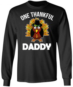 One Thankful Daddy Fall Autumn For Dad Thanksgiving