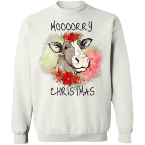 Moooorry Christmas holiday cow