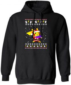Pikachu Pokemon Ugly Christmas hoodie