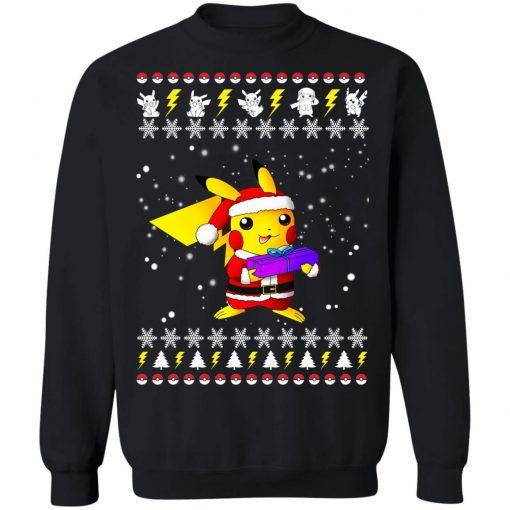 Pikachu Pokemon Ugly Christmas Sweater