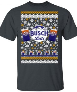 Busch Latte Beer Ugly Christmas shirt
