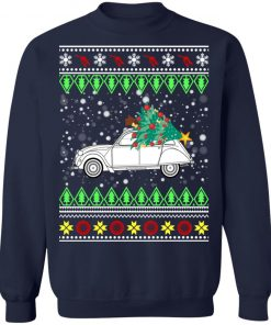 Citroen 2CV Ugly Christmas Sweater