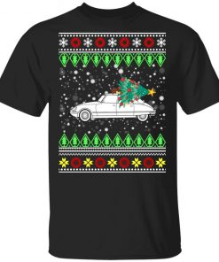 Citroen DS 23 EFI Classic Car Ugly Christmas