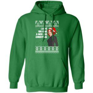 Black Widow I Hope You Have a Kick Ass Christmas Avengers Ugly hoodie