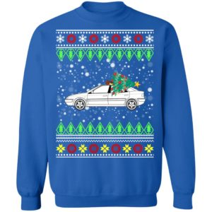 Citroen Xantia Classic Car Ugly Christmas Sweater