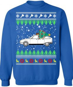 Citroen GS Classic Car Ugly Christmas Sweatshirt
