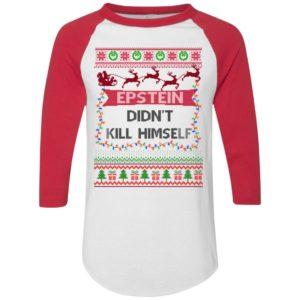 Epstein Didnt Kill Himself Ugly Christmas