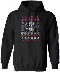Slipknot Rock Band Ugly Christmas hoodie